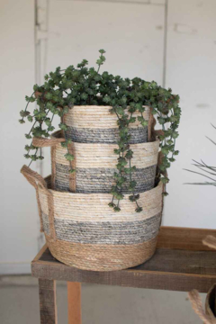 Shoptiques Product: Round Rush Small Basket