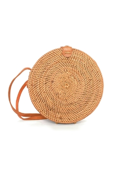 Shoptiques Product: Round Straw Purse