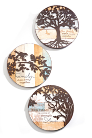 Giftcraft Inc.  Round Tree of Life - Product Mini Image