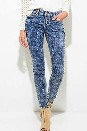 Rousseau Acid Wash Jeans - Product Mini Image
