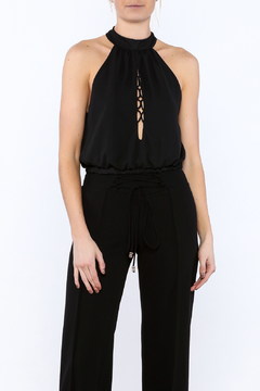 Rousseau Black Sleeveless Top - Product List Image