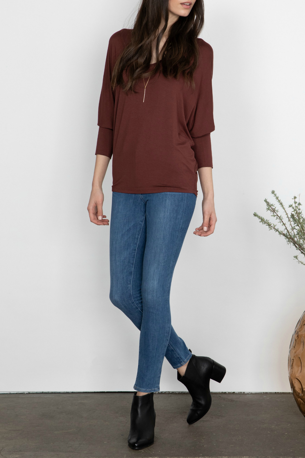 Gentle Fawn Rousseau Relaxed Dolman Sleeve Top - Main Image