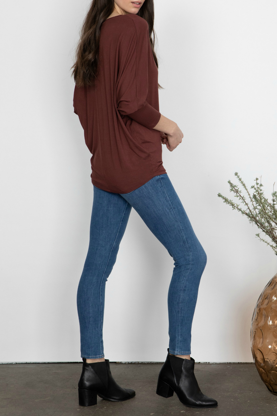 Gentle Fawn Rousseau Relaxed Dolman Sleeve Top - Front Full Image