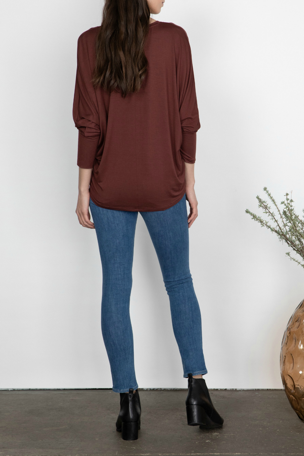 Gentle Fawn Rousseau Relaxed Dolman Sleeve Top - Side Cropped Image