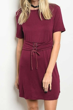 Shoptiques Product: T-Shirt Tie-Waist Dress
