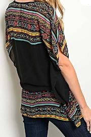 Rousseau Tribal Print Blouse - Side cropped