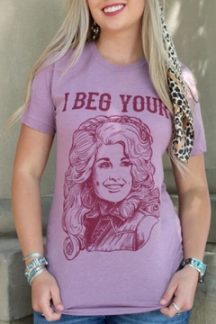 Rowdy Crowd Clothing Dolly Parton Tee - Product List Image
