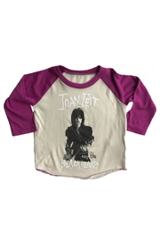 Rowdy Sprout Joan Jett Raglan - Product Mini Image