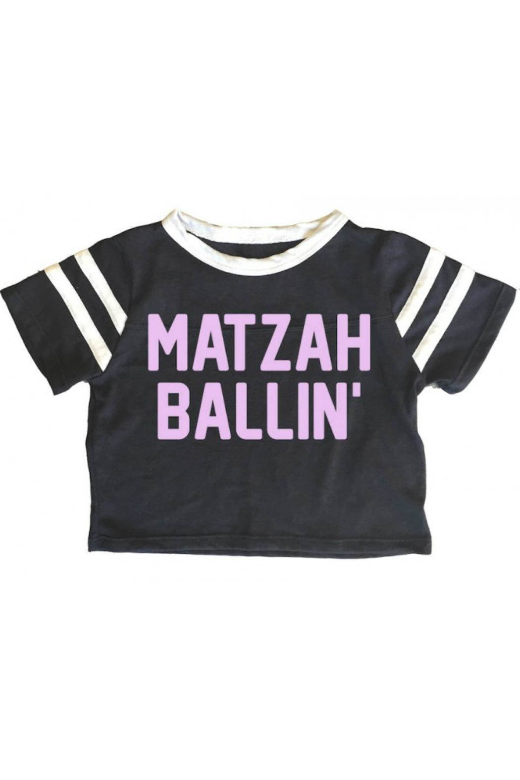 Rowdy Sprout Matzah Ballin Tee - Front Cropped Image