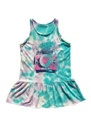 Rowdy Sprout Tie Dye Tank Dress - Product Mini Image