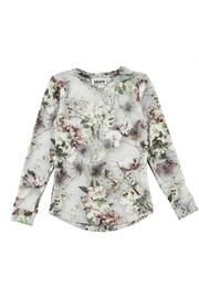 Molo Roxana Floral Top - Front cropped