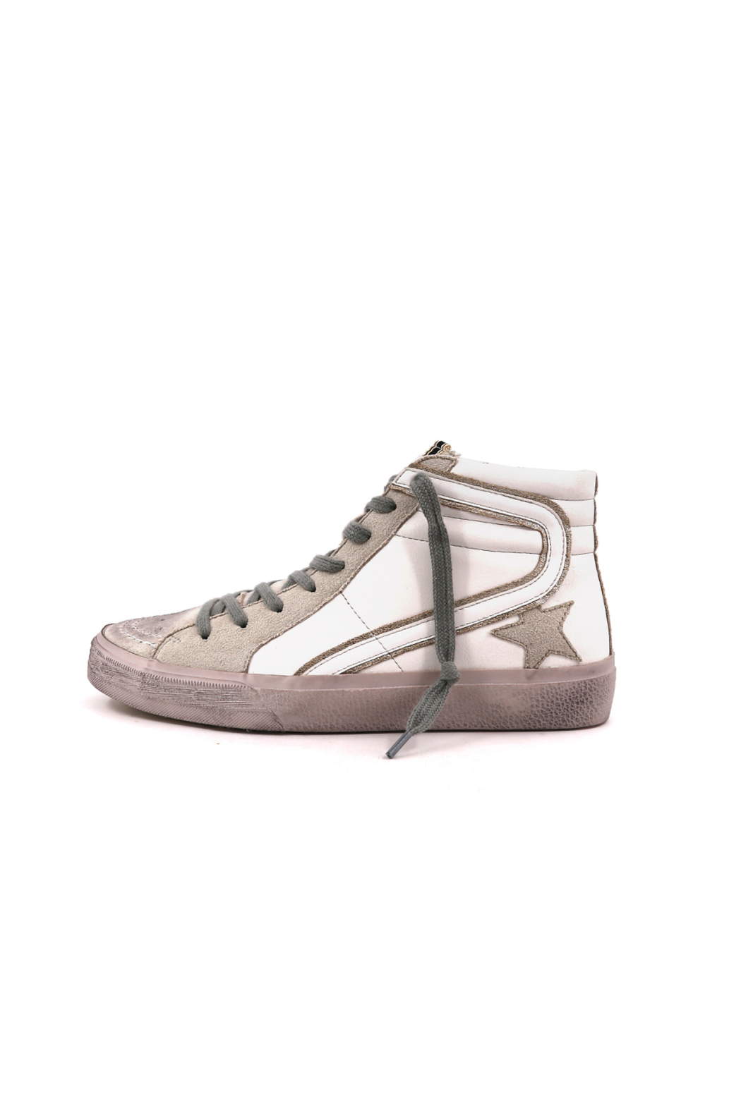Shu Shop Shoes Roxanne High Top Sneaker - Front Cropped Image