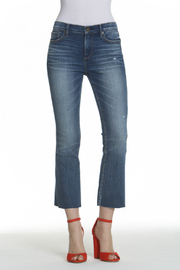 Driftwood Roxy Basic Kick Flare Jean - Front cropped