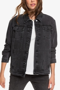 Roxy Black Denim Jacket - Product List Image