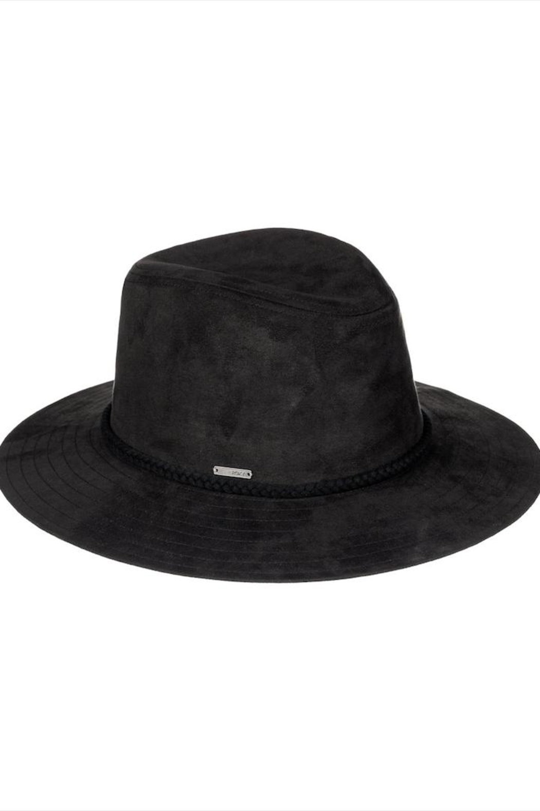 Roxy Black Faux-Leather Hat - Main Image