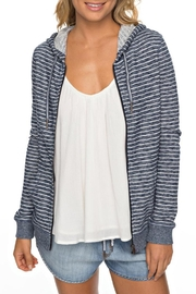 Roxy Classic Striped Zip-Up - Product Mini Image