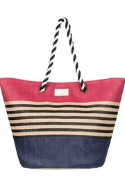 Roxy Color-Block Beach Tote - Front cropped