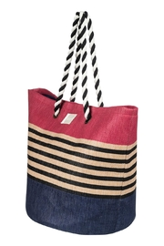 Roxy Color-Block Beach Tote - Product Mini Image