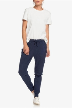 Roxy Cozy Ribbed Joggers - Product List Image
