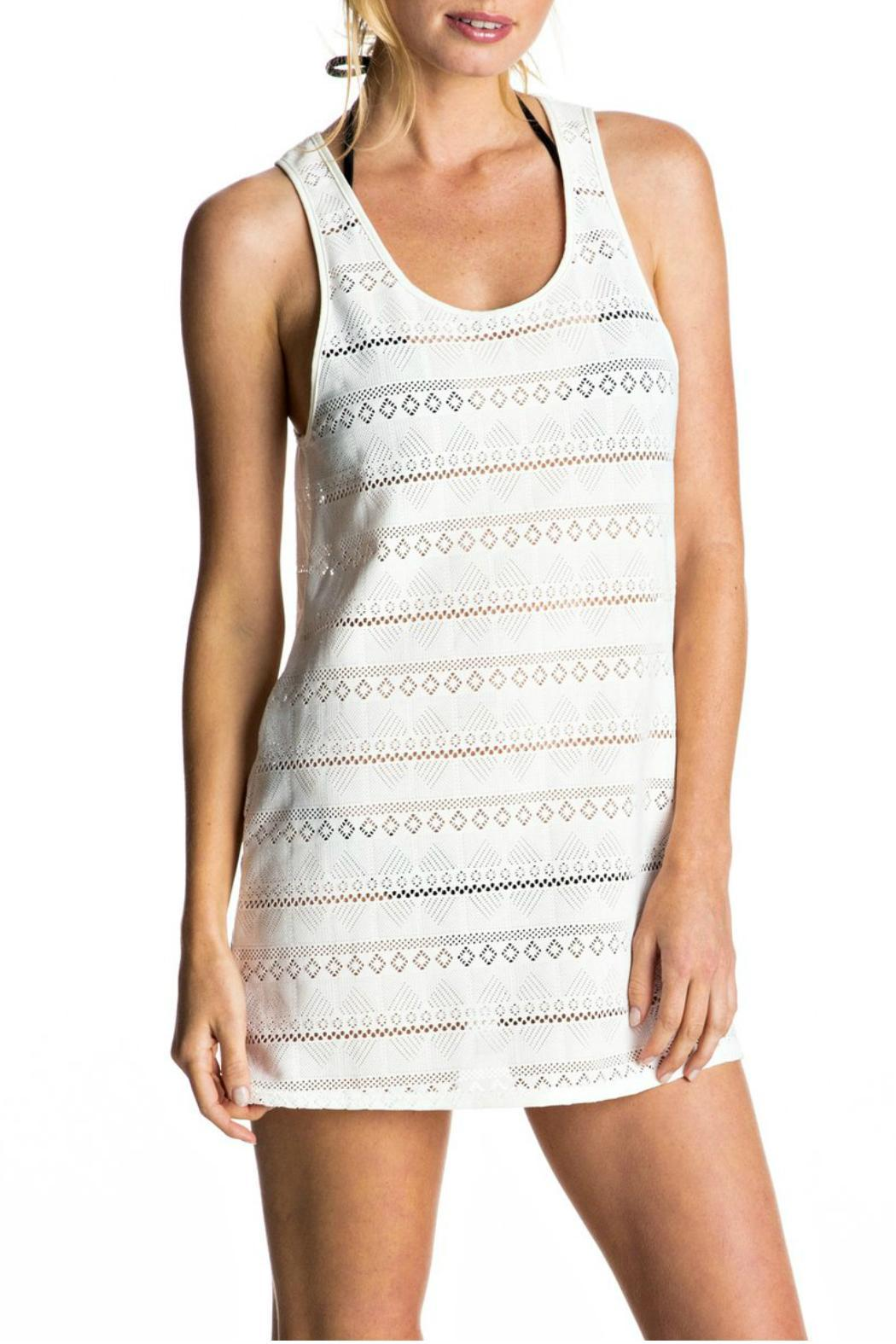 Roxy Crochet Easy Coverup - Front Cropped Image