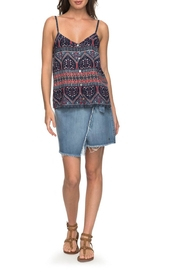 Roxy Denim Wrap Skirt - Product Mini Image