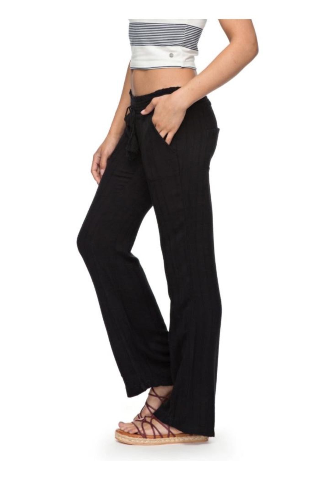Roxy Dobby Beach Pant - Side Cropped Image