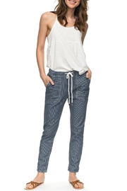 Roxy Dude Striped Joggers - Side cropped