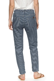 Roxy Dude Striped Joggers - Front full body
