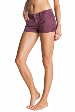 Roxy Embroidered Panel Shorts - Alternate List Image