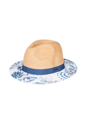Roxy Floral Fedora Hat - Product Mini Image