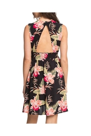 Roxy Floral Keyhole Dress - Side cropped