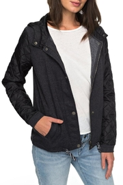 Roxy Hooded Fleece Jacket - Product Mini Image