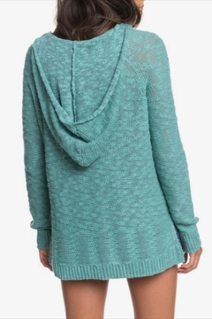 Roxy Hooded Poncho Sweater - Alternate List Image