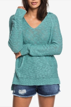 Roxy Hooded Poncho Sweater - Product List Image