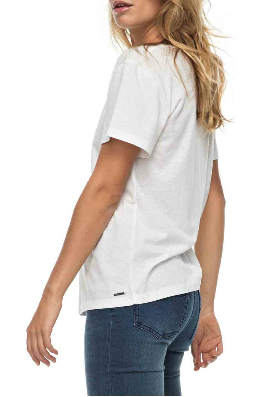 Roxy Just Simple Tee - Front Full Image