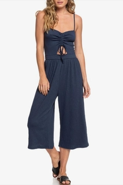 Shoptiques Product: Midi Drawstring Jumpsuit