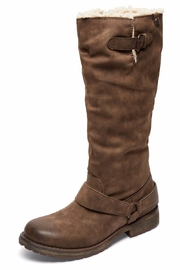 Roxy Montes Sherpa Boots - Front cropped