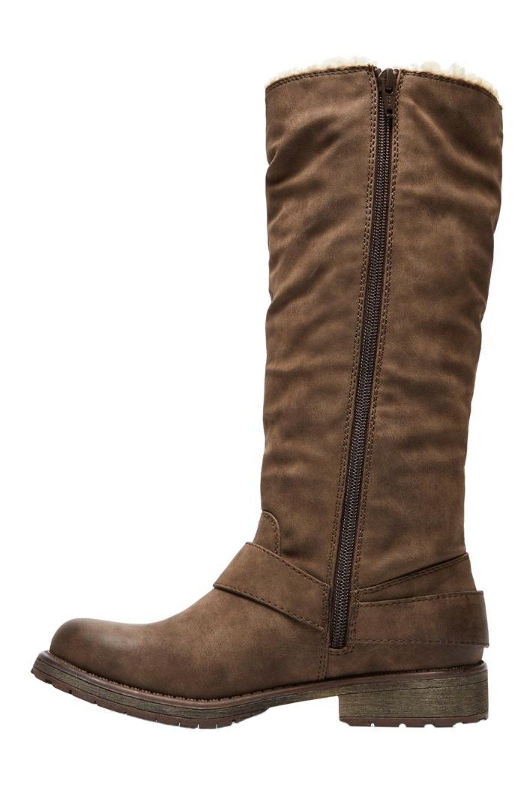 Roxy Montes Sherpa Boots - Front Full Image