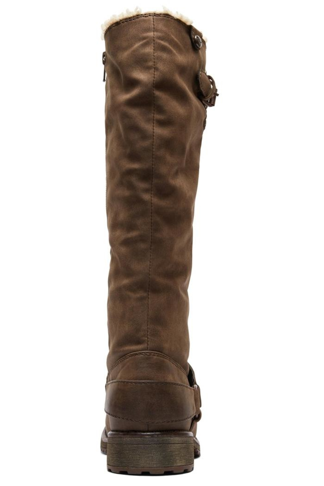 Roxy Montes Sherpa Boots - Back Cropped Image