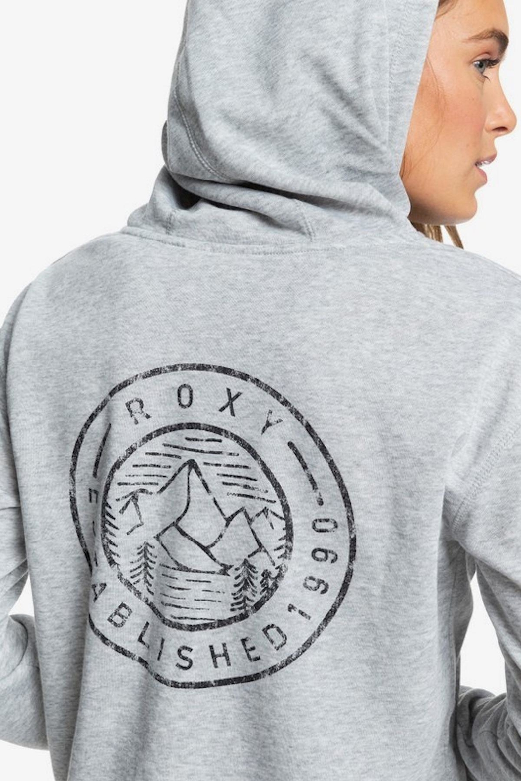 Roxy Moon Rising Zip-Up - Side Cropped Image