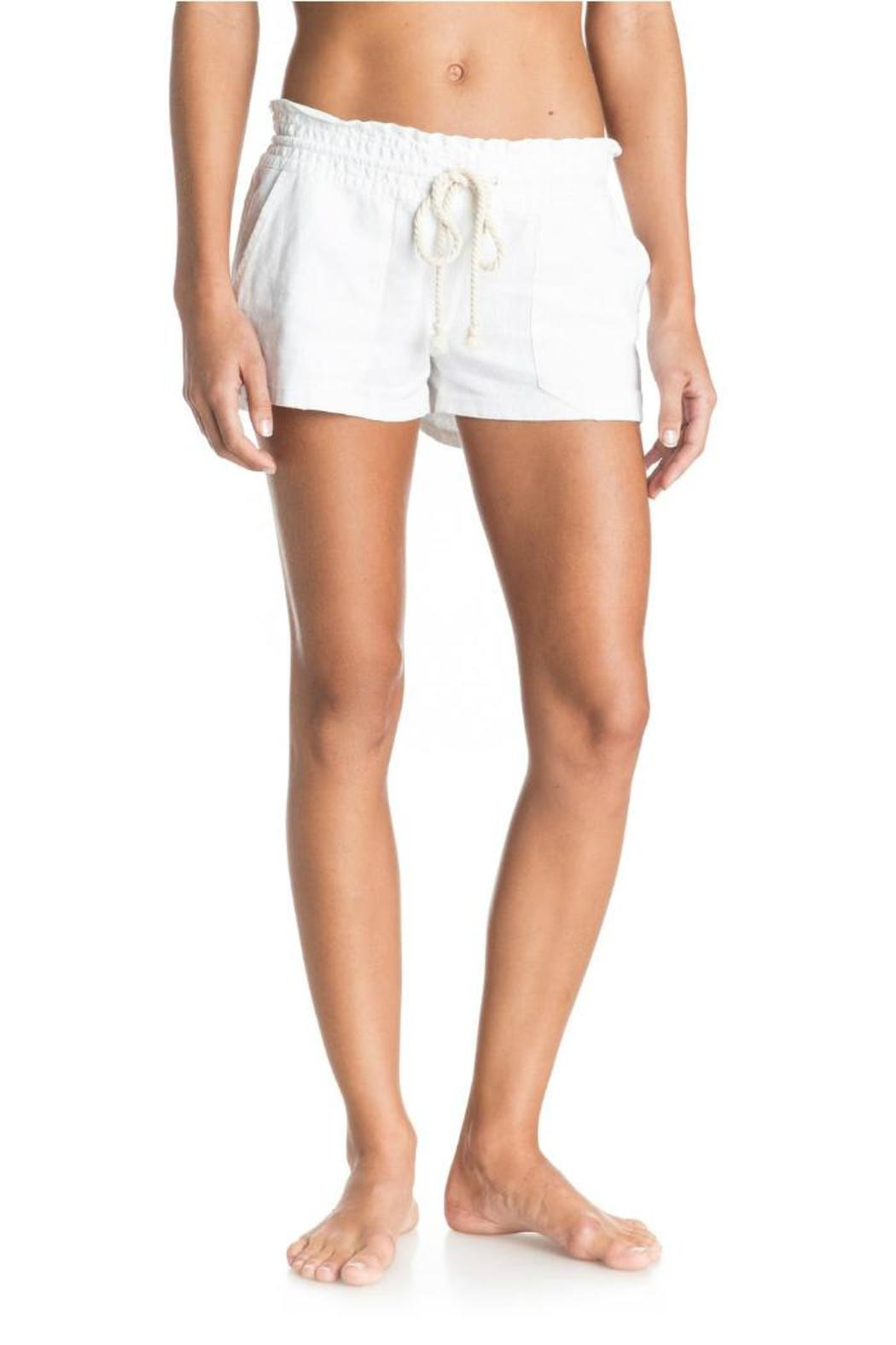 Roxy Oceanside Beach Shorts - Front Cropped Image