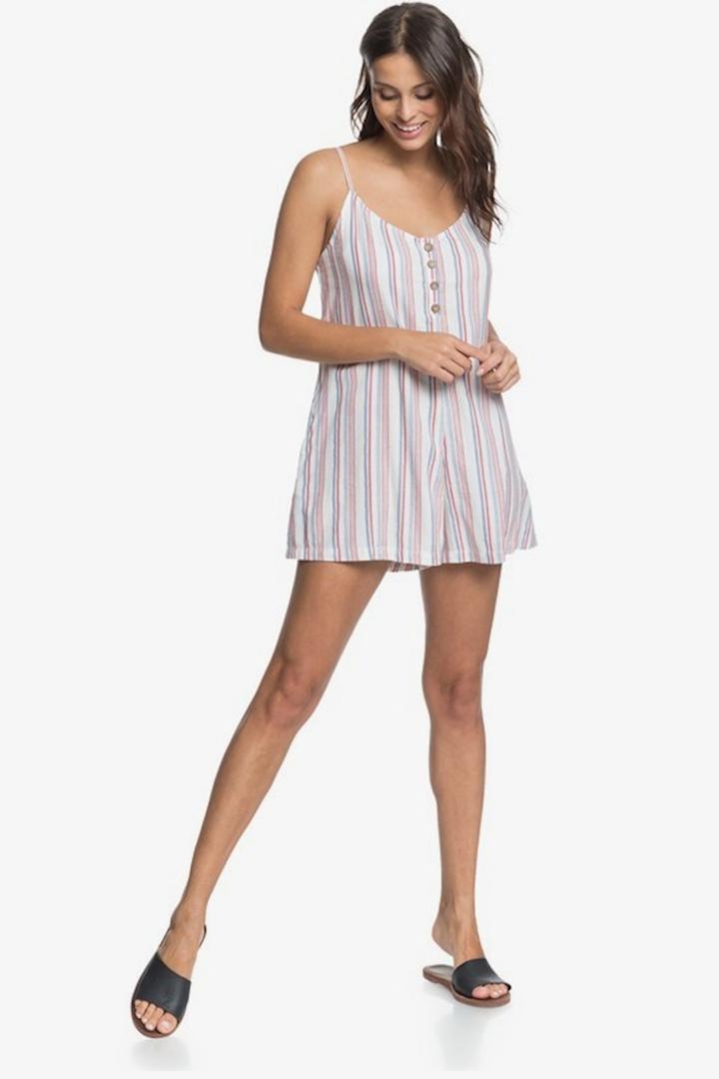 Roxy Red White Blue-Romper - Main Image