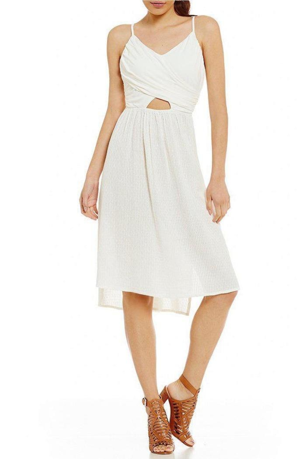 Roxy Resolutions White Dress - Front Full Image