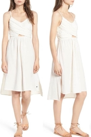Roxy Resolutions White Dress - Front cropped