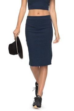 Shoptiques Product: Ribbed Bodycon Skirt
