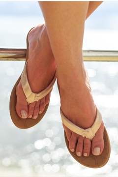 Roxy Rose Gold Sandal - Product List Image