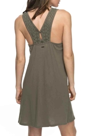 Roxy Stay Simple Sleeveless Dress - Front full body