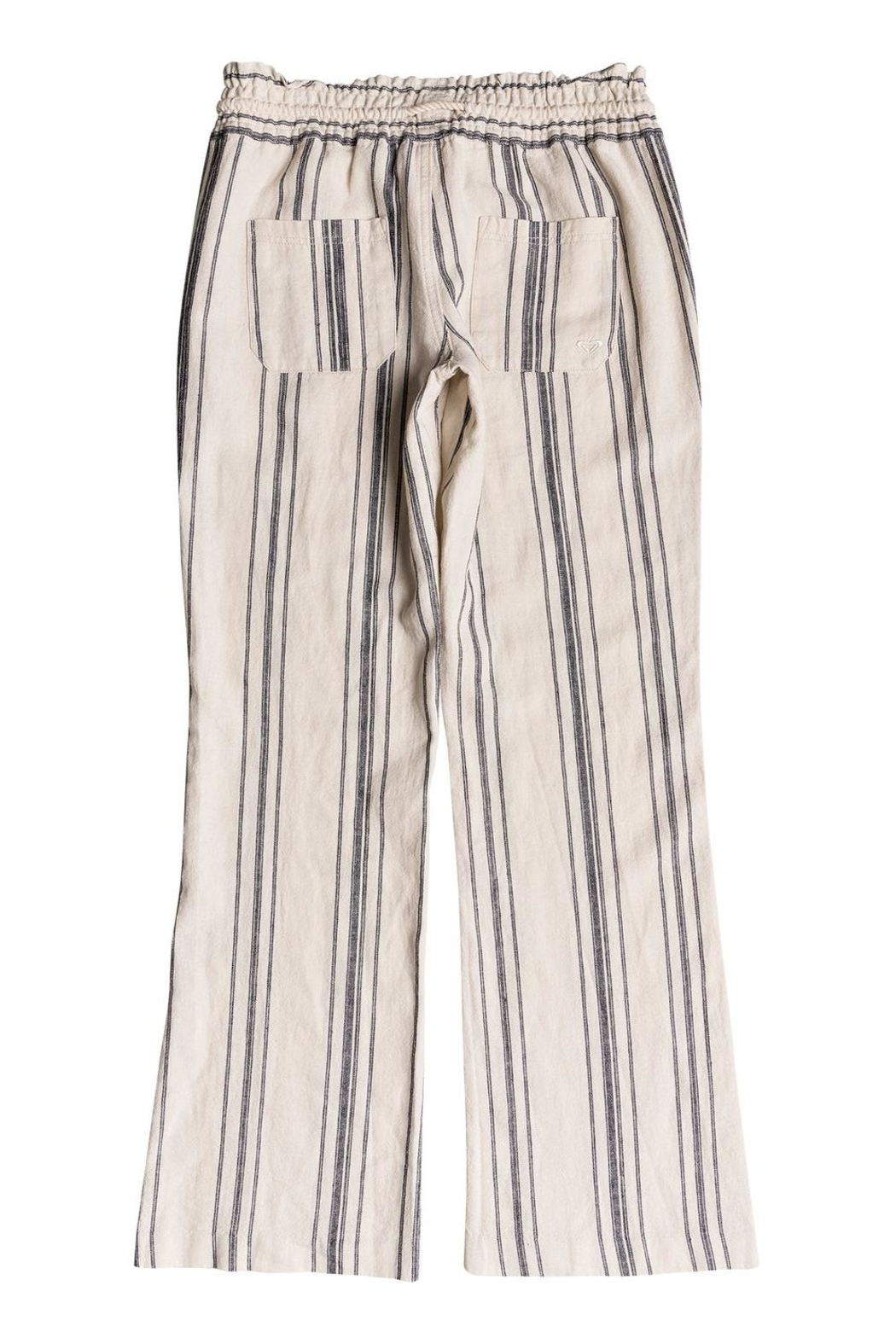 Roxy Striped Linen Pant - Front Full Image
