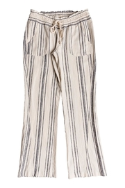 Roxy Striped Linen Pant - Front cropped