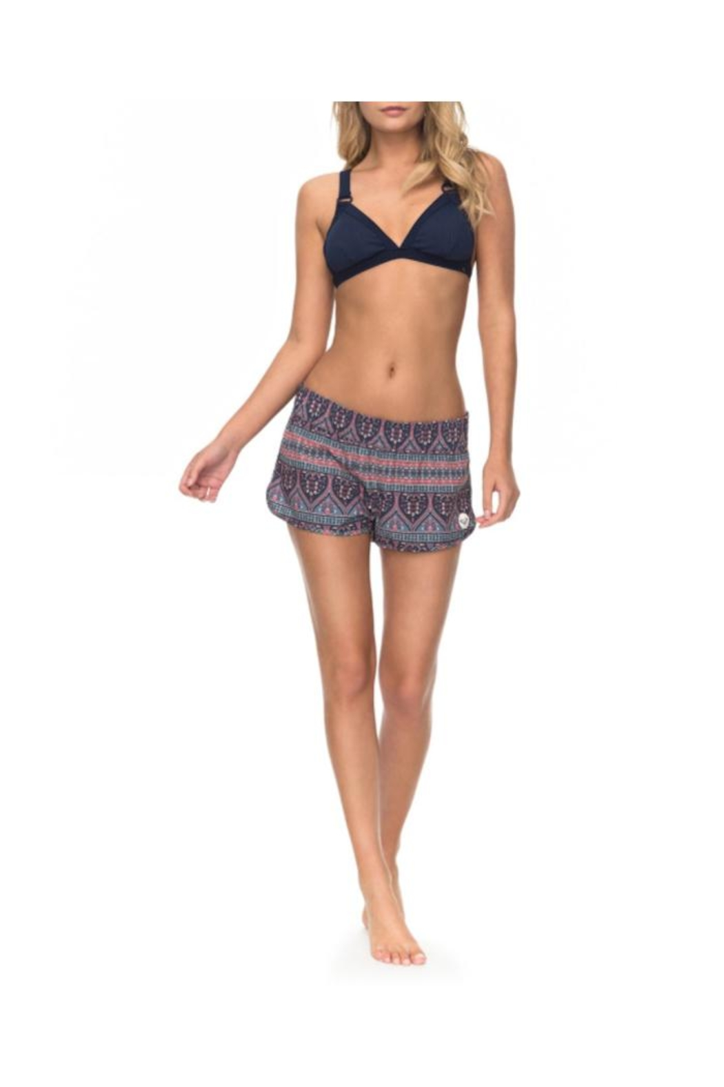 Roxy Sunshine Livin' Board-Shorts - Front Cropped Image
